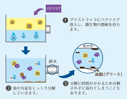 バクテリア処理(バイオ)